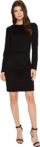nicole miller black long dress - 1