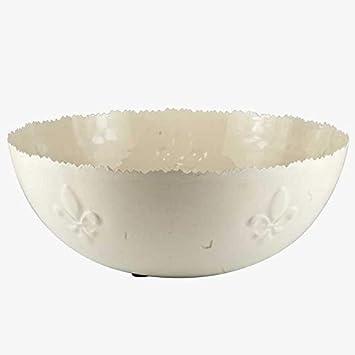 Amazon.com: Better & Best Waves Flower Enamel Metal Salad ...