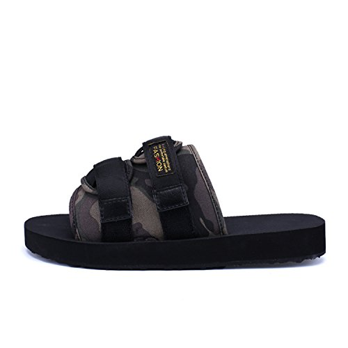 b72161d499e8 50%OFF Men Open Toe Fashion Beach Men Sandals Leather Men Shoes Summer  Beach Flip