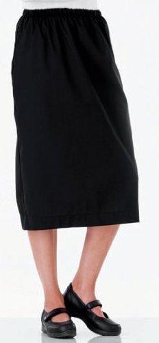 Fundamentals 14231 Women's Elastic Waist Scrub Skirt