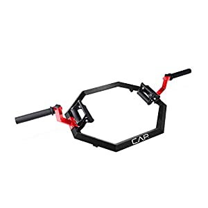 Cap Barbell Olympic Super Trap Bar, Hex Bar, Shrug Bar, Deadlift Bar, Multiple Colors