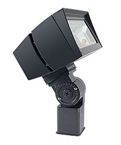 - RAB Lighting FFLED52SF FFLED 52W LED Floodlight, 5000 K (Cool) Color Temp, Slipfitter Mounted, Standard Type, Bronze Finish