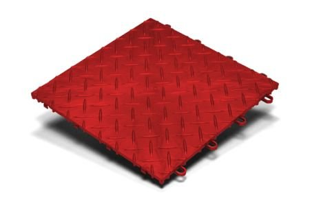 RaceDeck Garage Flooring - RDRED-20 (Red, 12x12)