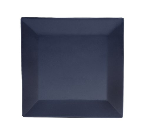 cac-china-kc-21-cbu-color-arts-12-inch-stoneware-square-plate-cobalt-blue-box-of-12
