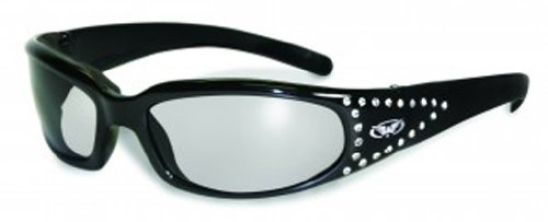 Global Vision Eyewear Marilyn 3 CF 3 FM Sunglasses with EVA Foam, Clear Lens, 1 (Fm Lens Accessories)