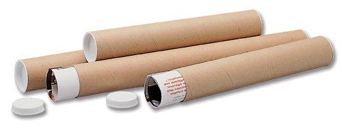 Ambassador Mailing Tubes Cardboard A4-A3 L330xDia.50mm Ref PT-050-15-0330 [Pack of 25] by Ambassador (Image #1)