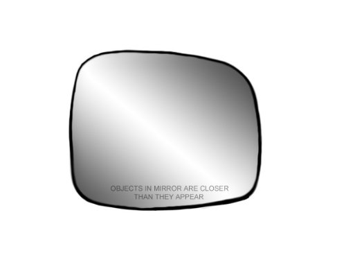 Fit System 80241 Passenger Side Non-heated Replacement Mirror Glass with Backing Plate