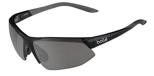 Bolle Breakaway Sunglass with Modulator Clear Grey Oleo AF Lens, Shiny ()
