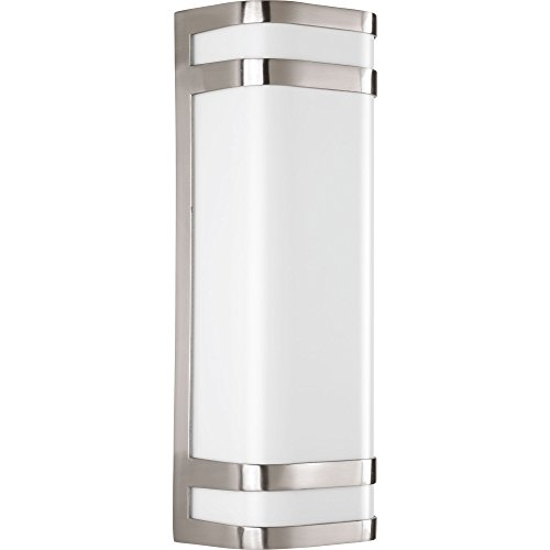 Progress Lighting P5806-0930K9 Valera LED Two-Light Wall Lantern, Brushed Nickel Review