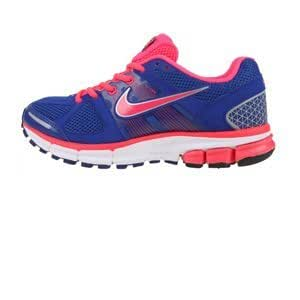 Nike Air Pegasus+ 28 Womens Running Trainers 443802 406 Drenched Blue Solar Red White Sneakers Shoes Nike Plus (US 9.5)