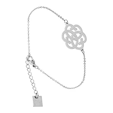 plus récent c483b 8cb80 Zag Bijoux Bracelet Triple Coeur (Argent)