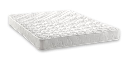 signature sleep essential 6 inch coil mattress made with certipurus certified foam 6 inch twin mattress white available in multiple sizes