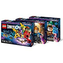 Lego Dimensions Story Pack Bundle: LEGO Batman Movie Story Pack (71264), Fantastic Beasts Story Pack (71253), Ghostbusters Story Pack (71242) (Best Lego Game Ps4)