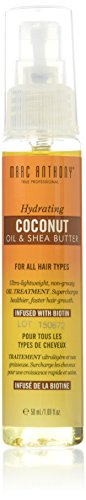 Marc Anthony Coconut Oil & Shea Butter Treatment 1.69 Ounce (50ml) (Shea Butter Hair Oil)