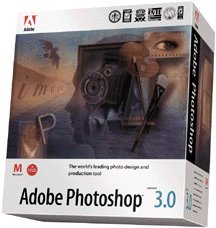 ADOBE SYSTEMS PHOTOSHOP 3.0.1 Upgrade - books and software