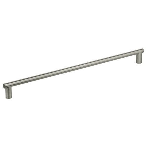 Omnia 721/800 31-1/2'' Door Pull from the Stainless Steel Collection, Brushed Stainless Steel
