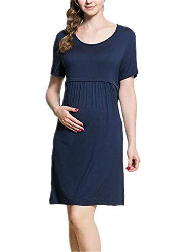 Hx Maternit Fashion Da Donna Abito PiukXZ