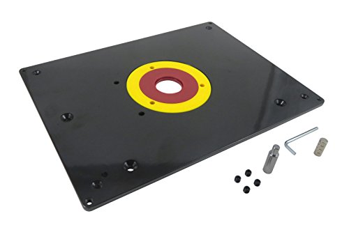 (Taytools 469089 Router Table Mounting Base Plate 3/8