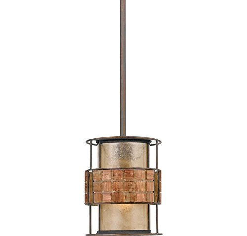 Quoizel MC842PRC 1-Light Laguna Mini Pendant in Renaissance Copper - Renaissance Outdoor Pendant