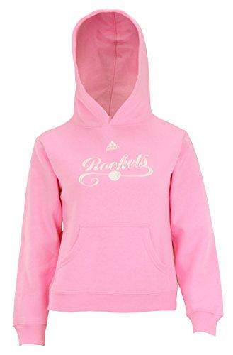 adidas Houston Rockets NBA Big Girls Pullover Fleece Hoodie, -