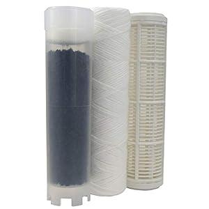 AQUAWATER – 104633 – Kit de rechange cartouche eau de pluie pour station Aqua Rain – Kit permettant de filtrer les…