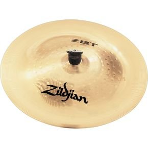 "Zildjian ZBT18CH ZBT 18"" China Cymbal w/ Zildjian Classic Black T Shirt (Large)"