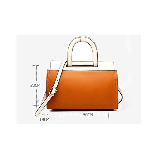 alla moda coreane Colori Donne eleganti moda alla Borse Classicblack cuciture HxOIWRq1