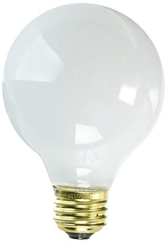 KEYSTORE INTL MCO 70879 Westpointe Vanity Globe Light Bulb, 25W, White