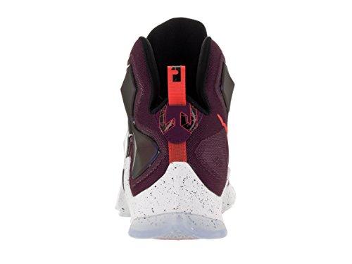 Nike Mens Lebron Xiii Scarpa Da Basket Gelso / Platino Puro Nero