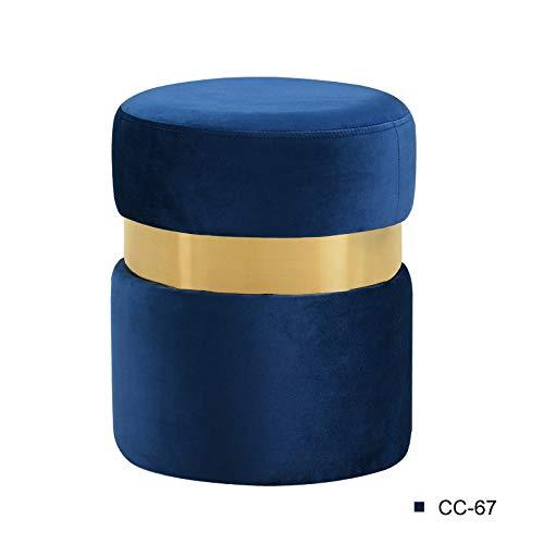 comprar marca Pro-Xions Nordic Dresser Taburete de Maquillaje Sofá Moderno Moderno Moderno Taburete de pie Taburete Creativo Cambio de la Tela zapatos Taburete Silla Simple Muebles for el hogar (Color   Color 12 )  ¡no ser extrañado!