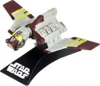 Expanded Universe Luke Skywalker - REPUBLIC ATTACK SHUTTLE Star Wars Expanded Universe The Clone Wars 3 INCH Titanium Series Die Cast Vehicle