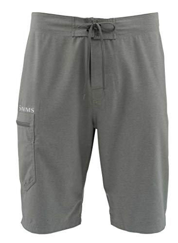 Simms Surf Shorts, Men's Board Shorts for Fishing, Swimming, Beach Wear, Comfortable Swim Trunks with UPF50 UV Sun Protection, 36