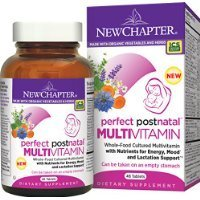 New Chapter Perfect Postnatal Multivitamin Tablet, 48 Count
