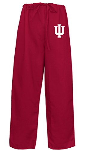 Indiana University Scrubs Bottoms Pants-Size MED- IU Men Ladies