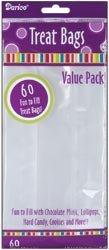 9 Bags Treat (Bulk Buy: Darice Clear Treat Bags 4
