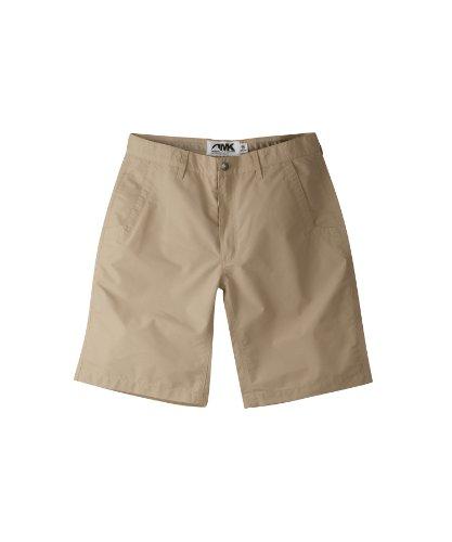 Mountain Khaki - Mountain Khakis Men's Poplin Short Relaxed Fit, Khaki, 36 x 8-Inch