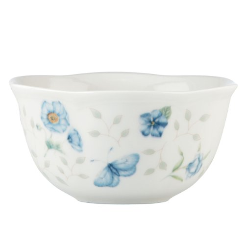 Lenox Butterfly Meadow Bowls, 12-Ounce, Assorted Colors, Set of 4