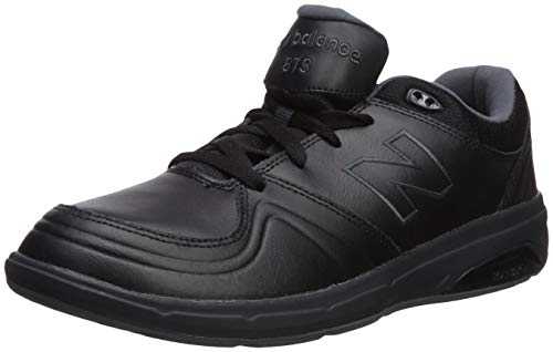 New amp; Medios Balance Para Mujeres Negro Cordon Caminar Bajos Zapatos Ww813 Talla xrrqSwnT