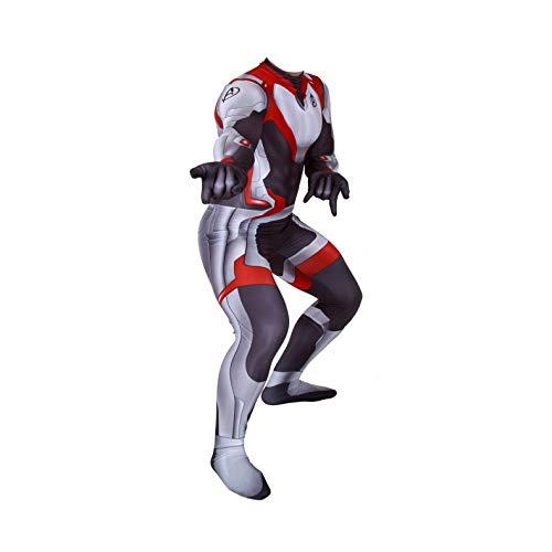 Unisex Lycra Spandex Zentai Halloween Quantum Big Code Shirt Cosplay Costumes Adult/Kids 3D Style (Adult-XXXL, Fat Edition)
