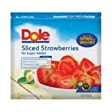 Dole Sliced Strawberry, 5 Pound -- 2 per case.