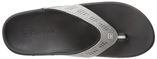 Sandal Slide Silver Black Spenco Women's Breeze CqxnnB4