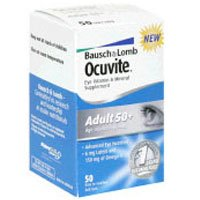 OCUVITE ADULT 50+ VT/MN SP S/G Size: 50