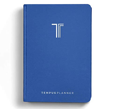 Tempus Planner - Best Productivity Planner & Goal Journal Monday Through Sunday - Daily Organizer. Achieve Your Goals with Time Blocking Method in 2020. Undated w/Bonus PDF Checklist for Habit Change