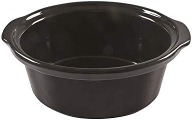 Beper BC.510 Slow Cooker, 280 W, 4,5 litres, structure, noir et acier