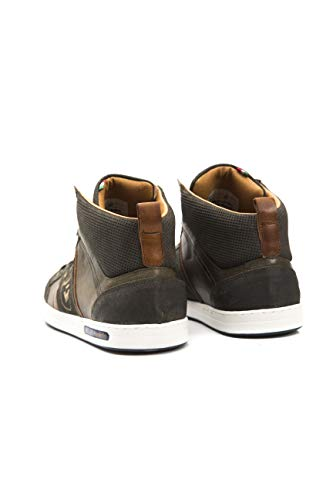 olive Uomo D'oro 52a Mondovi Grün Sneaker A Collo Pantofola Alto Mid zP1wqaW7