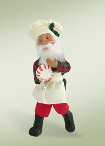 7-kindles-baking-santa-with-candy-baker-bendable-poseable-christmas-figure