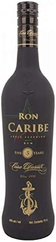 Ron Caribe 5 Years Old Añejo Superior - Ron, 700 ml