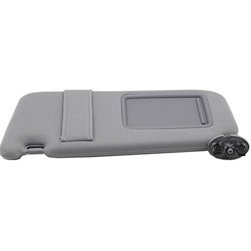 Auto Sunroof - Ezzy Auto Gray Left Driver Side Sun Visor fit for Toyota Camry Without Sunroof 2007 2008 2009 2010 2011