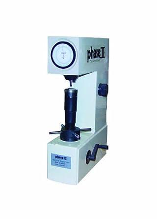 Phase II 900-345 Superficial Rockwell Analog Hardness Tester, 200-960 HL Measuring Range, 28