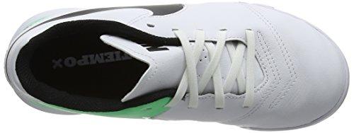 Nike Jr Tiempox Legend Vi Ic, Botas de Fútbol Unisex Niños Varios Colores (White/black-electro Green)